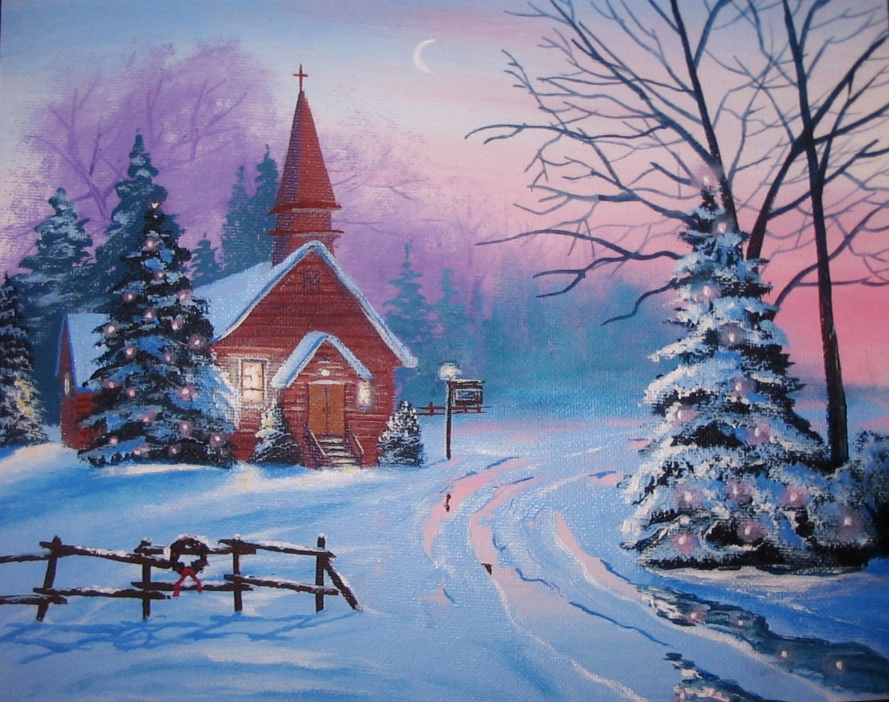 Decorate Church For Christmas